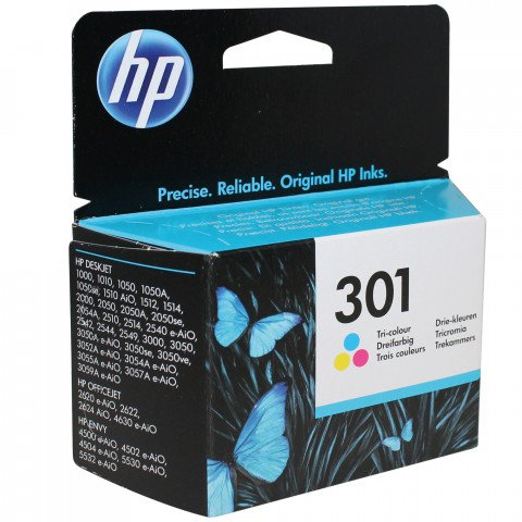 Hp cartridge kleur 301