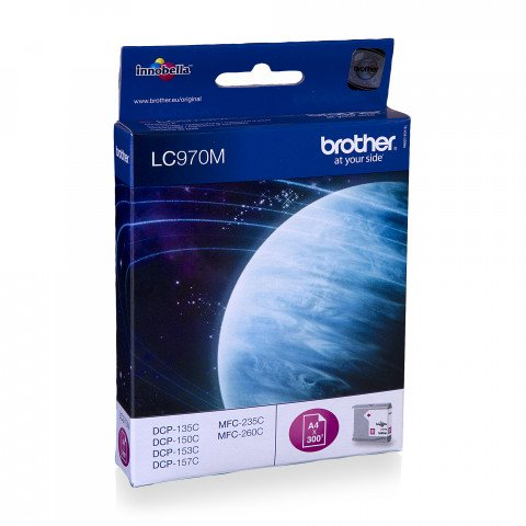 Brother cartridge rood LC970 - LC-970