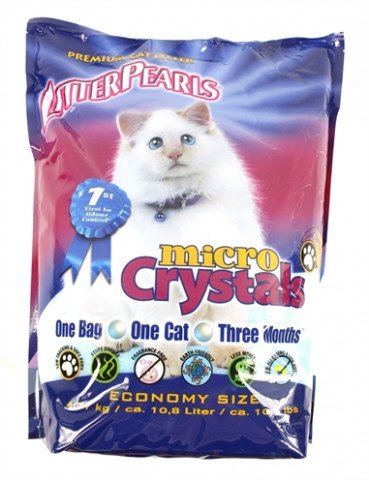 Litter Pearls Micro Crystals 10.5 Lbs / 4.76 Kg