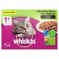 Whiskas Multipack Pouch Adult Mix Selectie Vlees / Vis In Saus 12X100 Gr