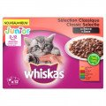 Whiskas Multipack Pouch Junior Classic Selectie Vlees In Saus 12X100 Gr