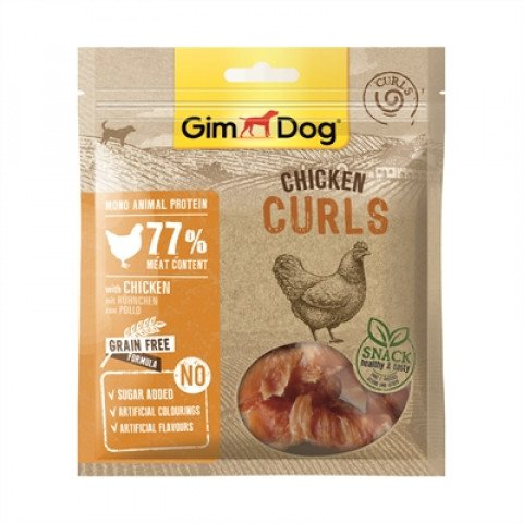 Gimdog Chicken Curls 55 Gr