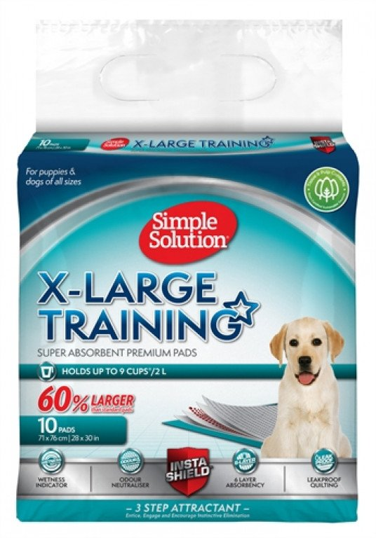 Simple Solution Puppy Training Pads Xl 10 St