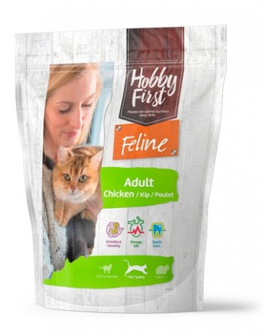 Hobbyfirst Feline Adult Chicken 800 Gr