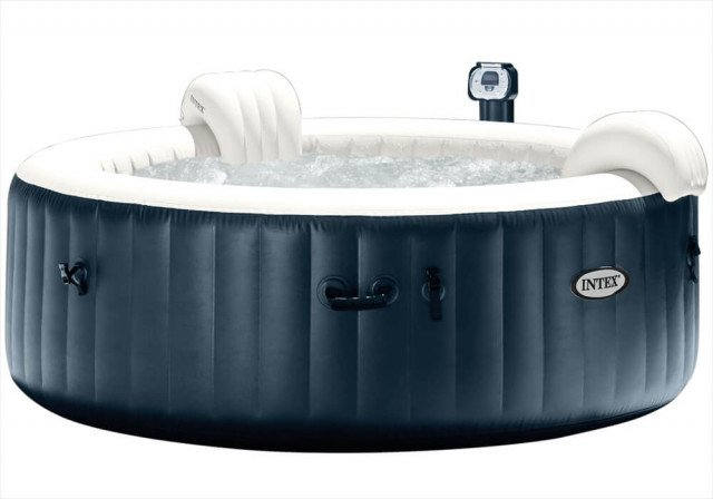 Intex Bubbel Jacuzzi Navy 6 persoons