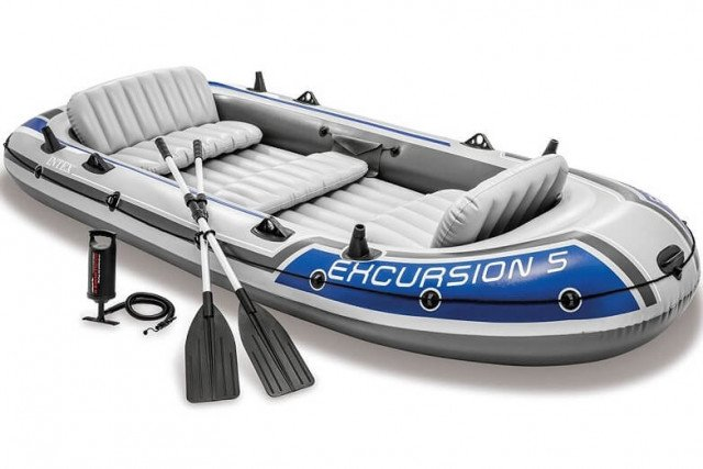 EXCURSION 5 BOAT SET  (54 Aluminum Oars. 68614)