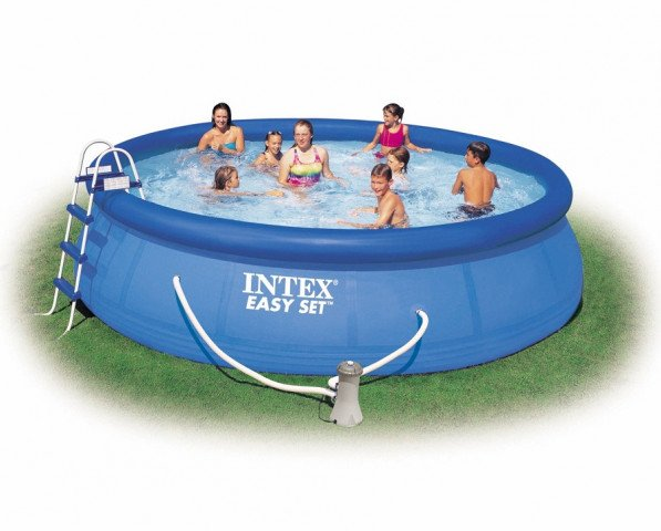 Intex Easy Set zwembad 457x84