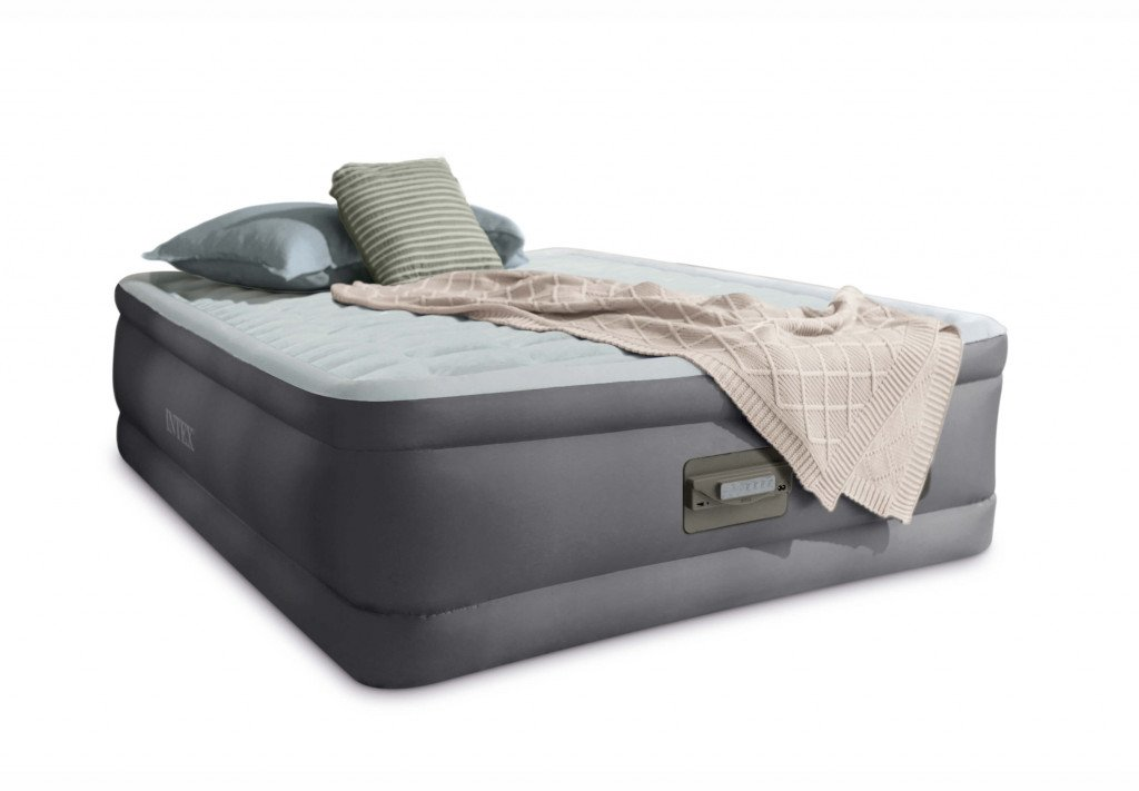 FULL PREMAIRE ELEVATED AIRBED (w/220-240V Built-in Pump)