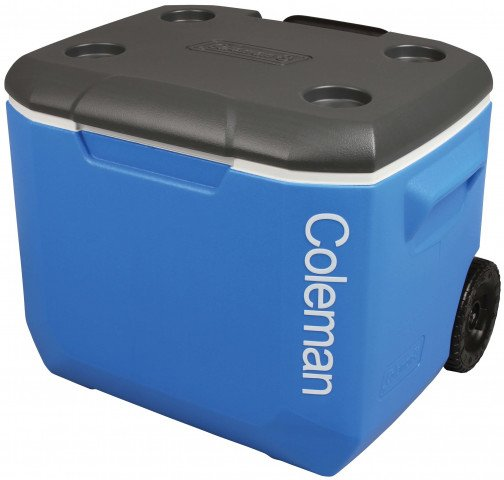 Coleman 60QT Performance Tricolor Wheeled Cooler