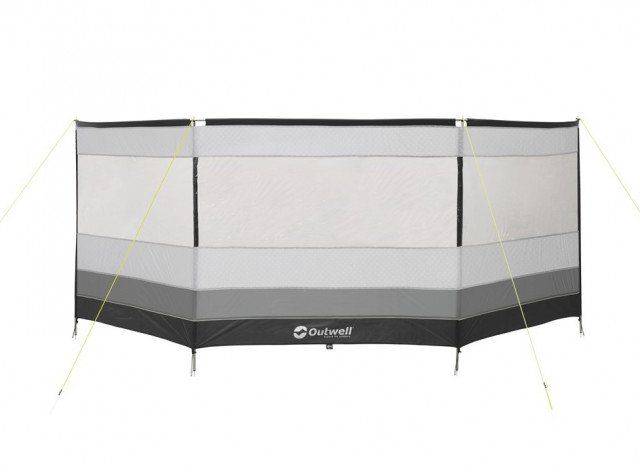 Outwell Windscreen Premium Round Grey/Black