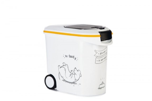 Curver DIS - Voedselcontainer Hond - Wit - 35L - 12kg