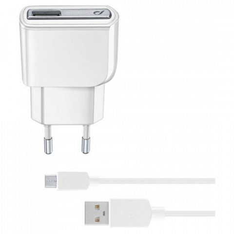 thuislader micro USB 2.1A wit