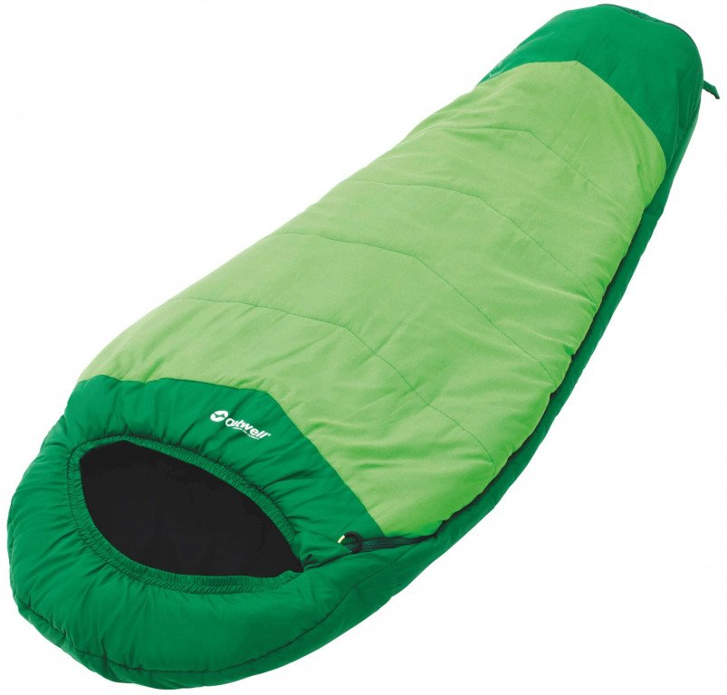 Outwell Convertible Junior Green sleeping bag