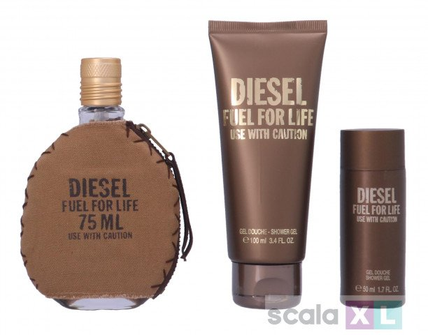 Diesel Fuel For Life Pour Homme Giftset