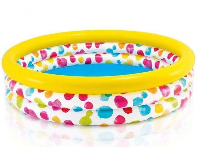 COOL DOTS POOL. 3-Ring. Ages 2+.  Shelf Box
