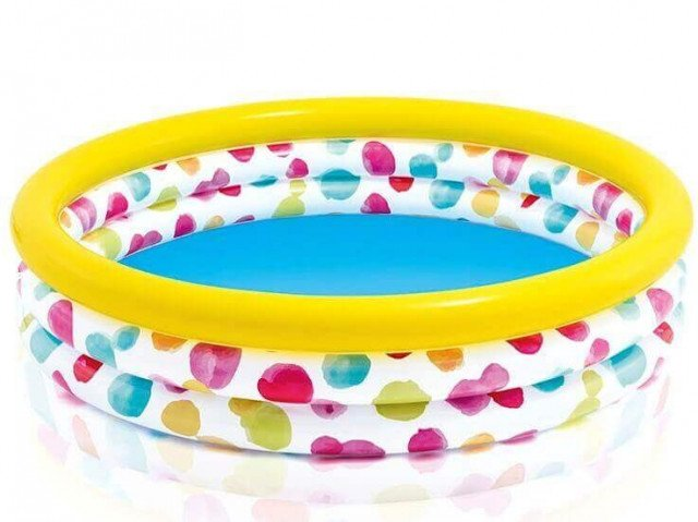 COOL DOTS POOL. 3-Ring. Ages 3+.  Shelf Box