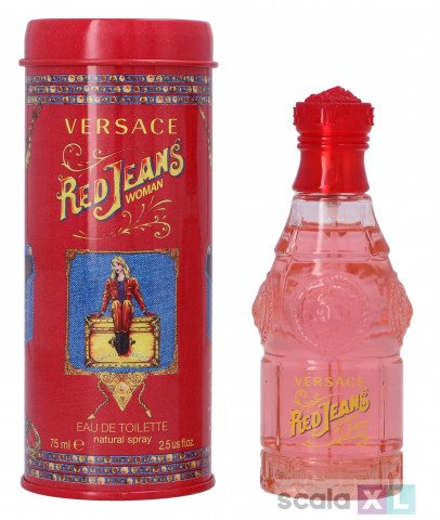 Versace Red Jeans Woman Edt Spray 75ml
