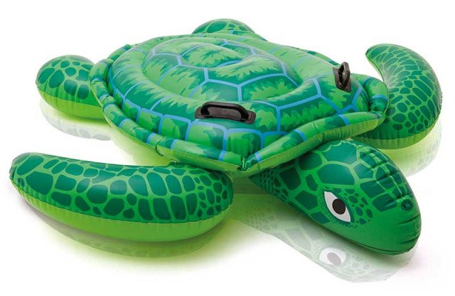LIL' SEA TURTLE RIDE-ON. Ages 3+
