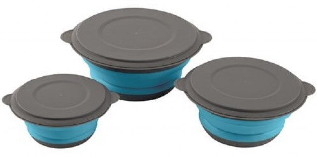 Easy Camp Clearwater Foldable Bowl Set w. lid