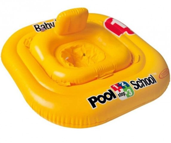 DELUXE BABY FLOAT POOL SCHOOLTM STEP 1. Ages 1-2