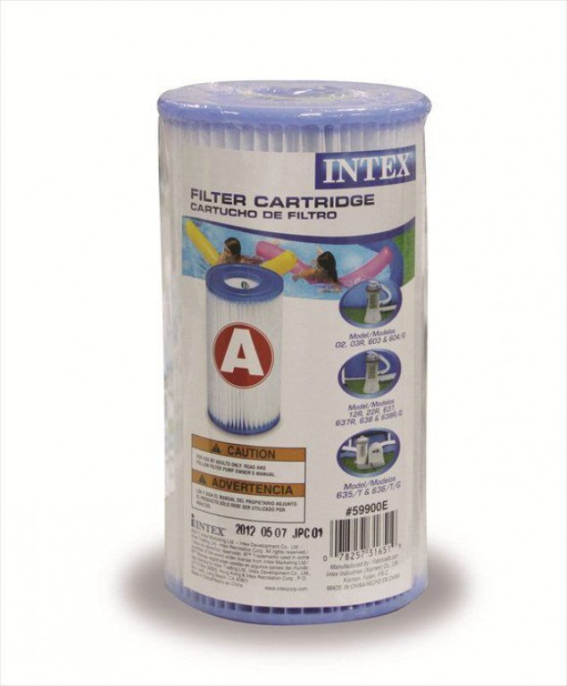 Intex filtercartridge klein - Type A
