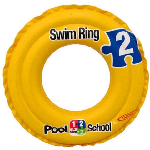 DELUXE SWIM RING POOL SCHOOL STEP 2. Ages 3 - 6. Peg Box