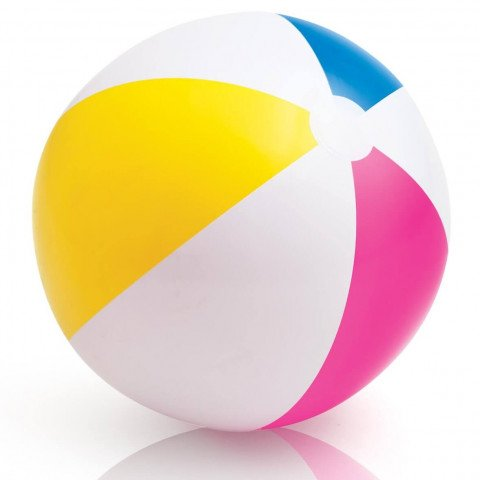 GLOSSY PANEL BALL. Ages 3+