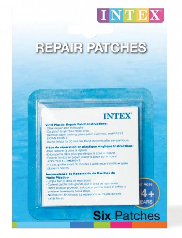 REPAIR PATCHES. Stick-On. Ages 14+. Blister Card