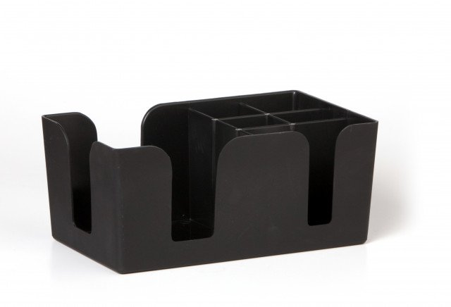 Bar Caddy Black 6-prt
