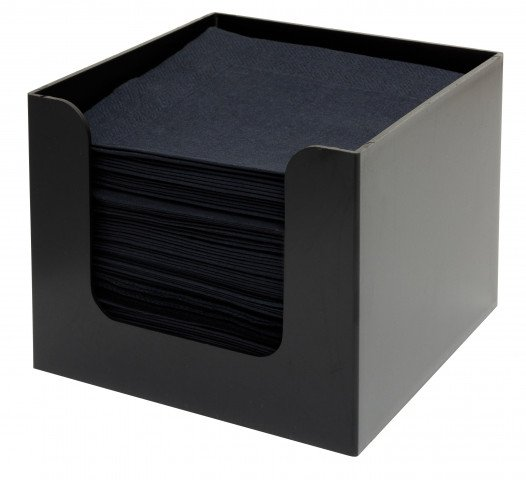 Napkin Holder Black 1-prt