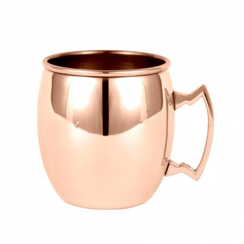 Moscow Mule Curved 450ml - brass handle - 150gr
