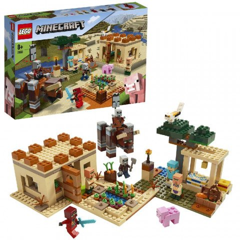 Lego 21160 Minecraft Pillager Overval