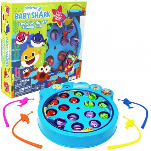 Baby Shark - Fishing Game