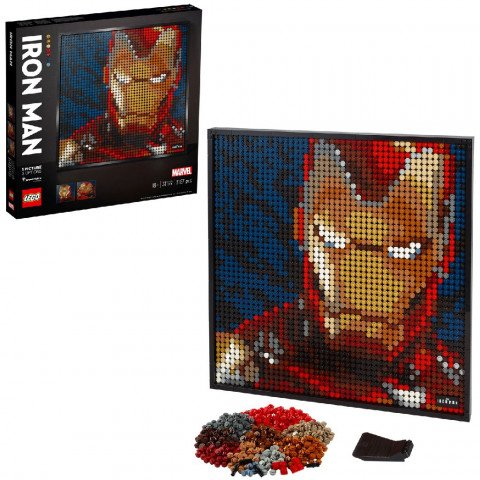 Lego 31199 Wall Art Marvel Iron Man