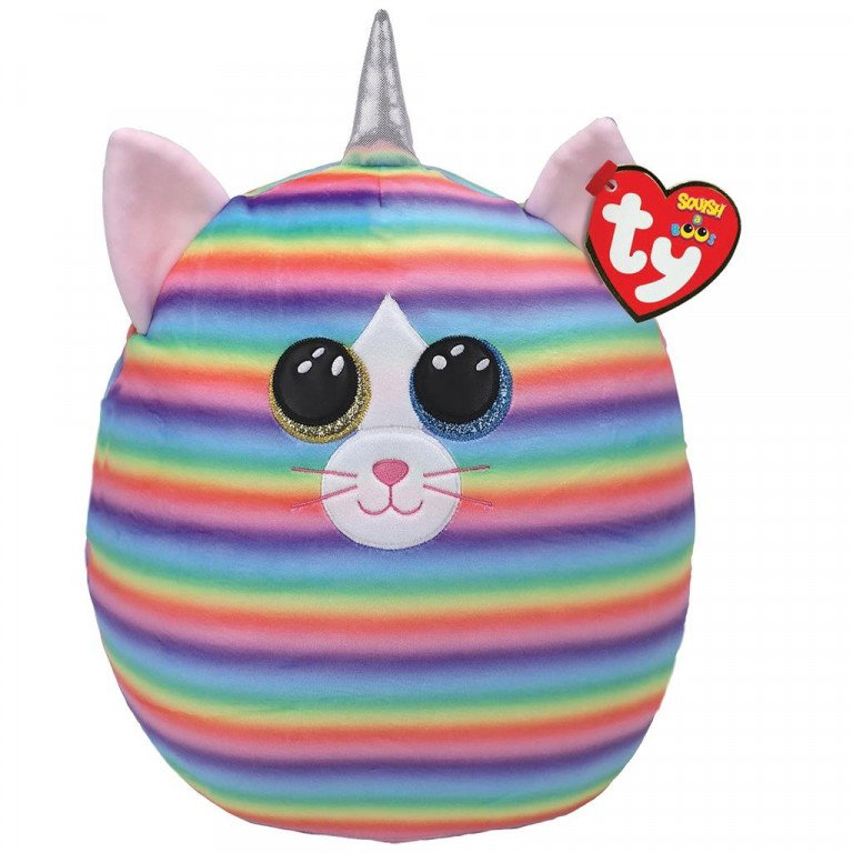 Ty Squish a Boo - Heather Cat - 31cm
