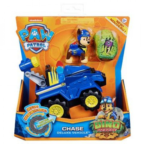 Paw Patrol - Dino Rescue - Themed Vehicles Chase