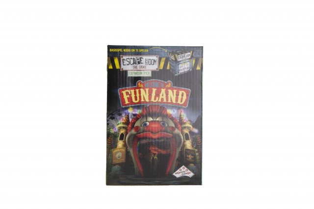 Escape Room The Game Expansion Pack Welcome to Funland