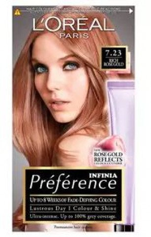 Preference Infinia  7.23 Rosegold Blond