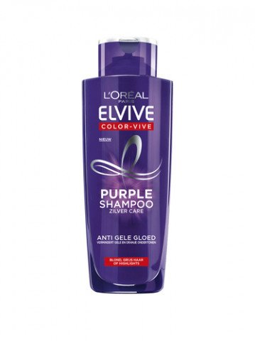 L'Oreal Elvive - Shampoo - Purple Zilver Care - 200ml