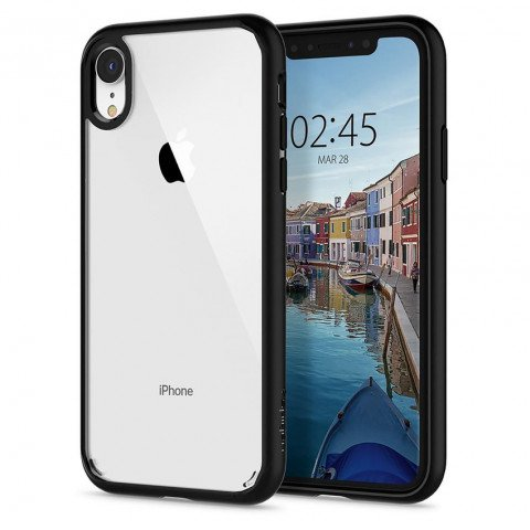 Spigen iPhone Xr Ultra Hybrid Matt Black