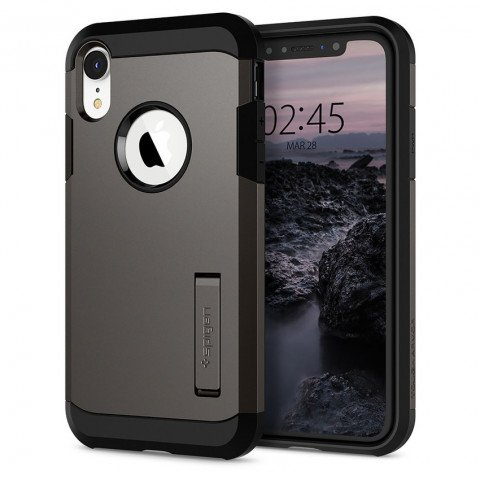 Spigen iPhone Xr Tough Armor Grey