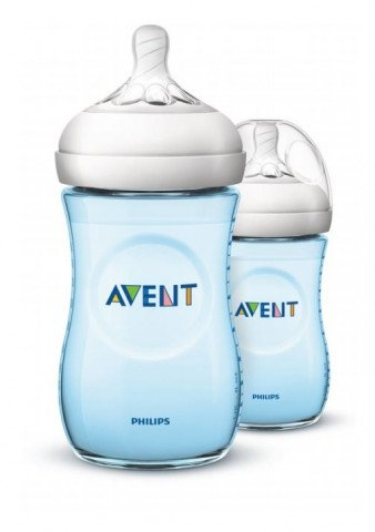 Avent Zuigfles 260ml Natural 1m+ Blw 2st