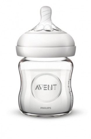 Avent Zuigfles Natural 120ml 0m+ Glas