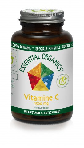 Ess. Organics Vit C 1500mg Hypo-all 75 t