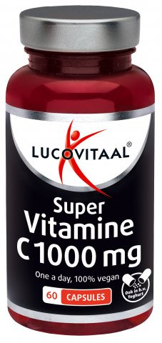 Lucovitaal Vitamine C1000mg 60caps Vegan