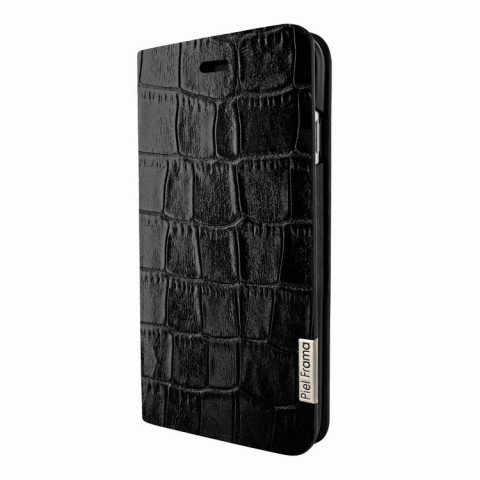 Piel Frama iPhone 8 / 7 Plus FramaSlimCards Croco Black