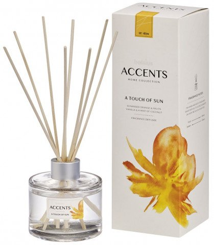 Bolsius - Accents Reed Diffuser 100ml - A Touch of Sun