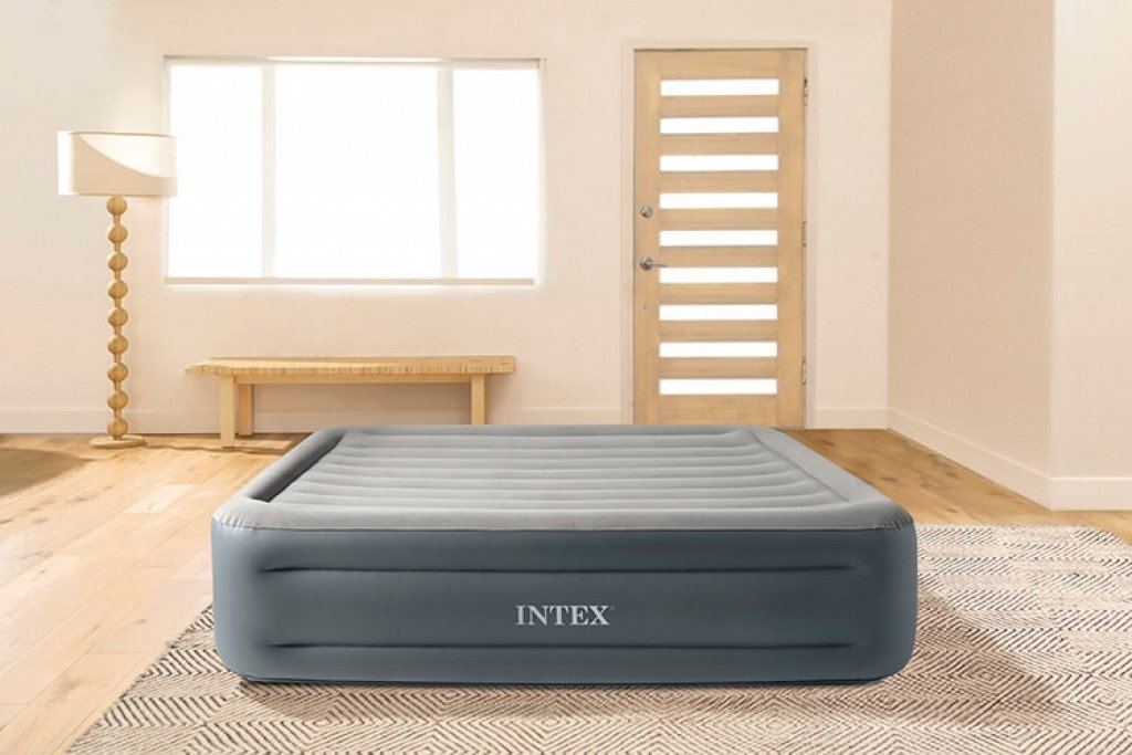 Intex Essential Rest luchtbed - tweepersoons - 203x152x46cm
