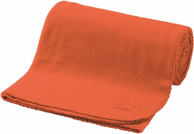 Easy Camp Fleece deken oranje