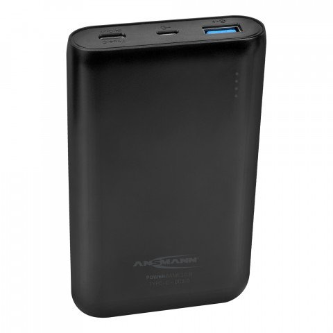 portable powerbank 10000mAh 1x USB-C + 1x QC 3.0